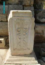 Символ Медицины как науки. Эфес, Турция, 2008 г.